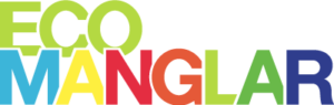 Logosímbolo de Ecomanglar a color