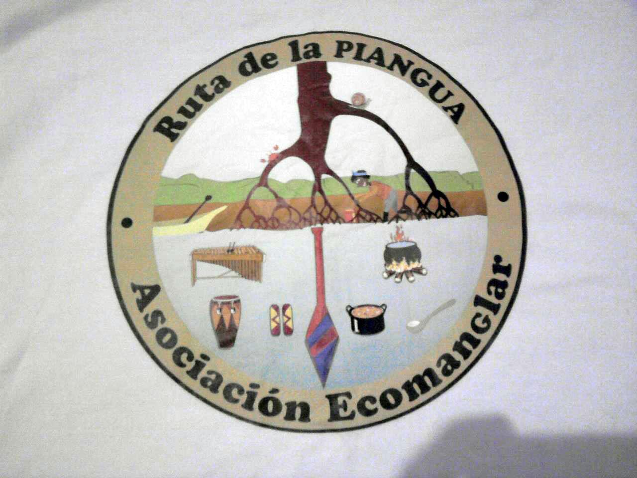 Fotografía del logo de la Ruta de la Piangua